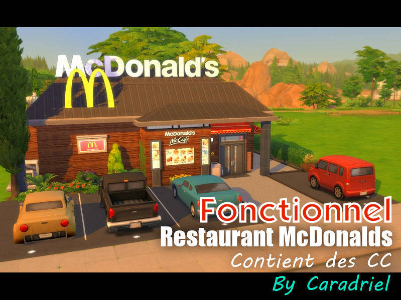▷ Restaurant McDonald's Fonctionnel par Caradriel