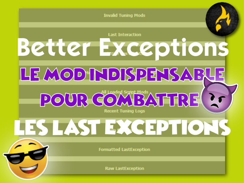 ▷ Better Exceptions v1.7 par TwistedMexi