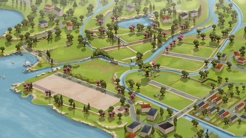 ▷ Nouvelle carte de Willow Creek V2 par DerShayan et NoirSims