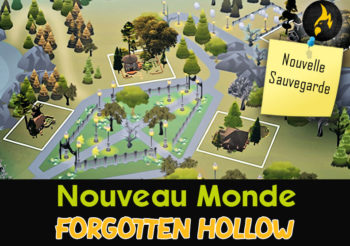 Forgotten Hollow, un Nouveau Monde sans CC par Flowers in my tea