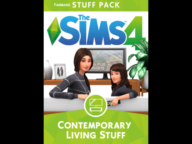 ▷ Pack de 25 Objets 'Vie Contemporaine' par Illogical Sims