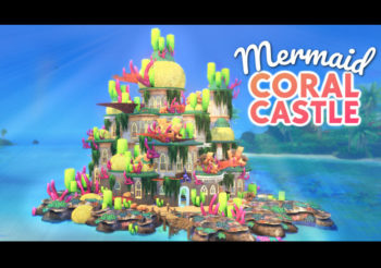 Mermaid Coral Castle par Simproved