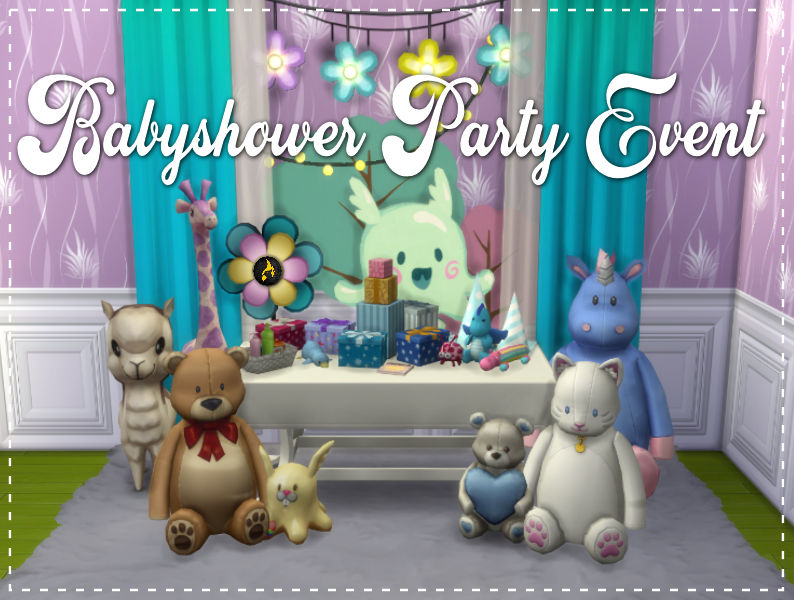 ▷ Babyshower Party par MSQSims