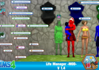 ▷ Mise à Jour Life Manager 1.4 par Sacrificial Junior