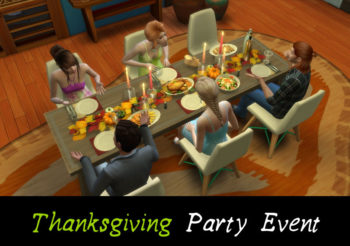 ▷ Thanksgiving Party Event par MSQSims