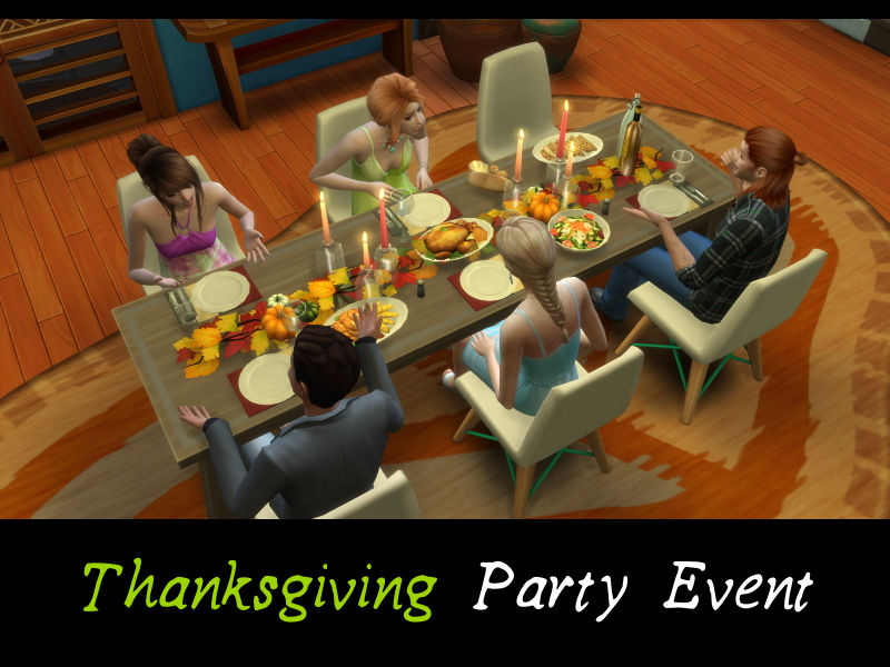 ▷ Thanksgiving Party par MSQSims