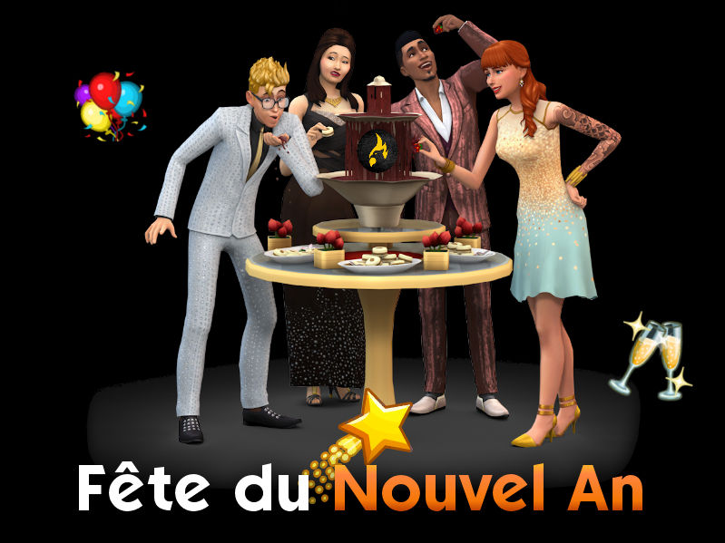 ▷ Fête du Nouvel An de MSQSims