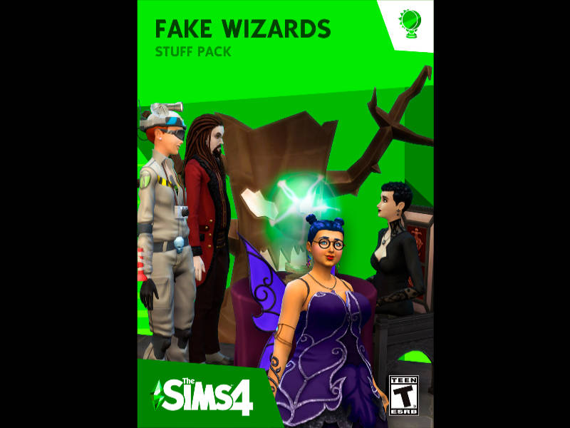 Fake Wizards Stuff Pack Maxis Match par Stanislas & Luminous
