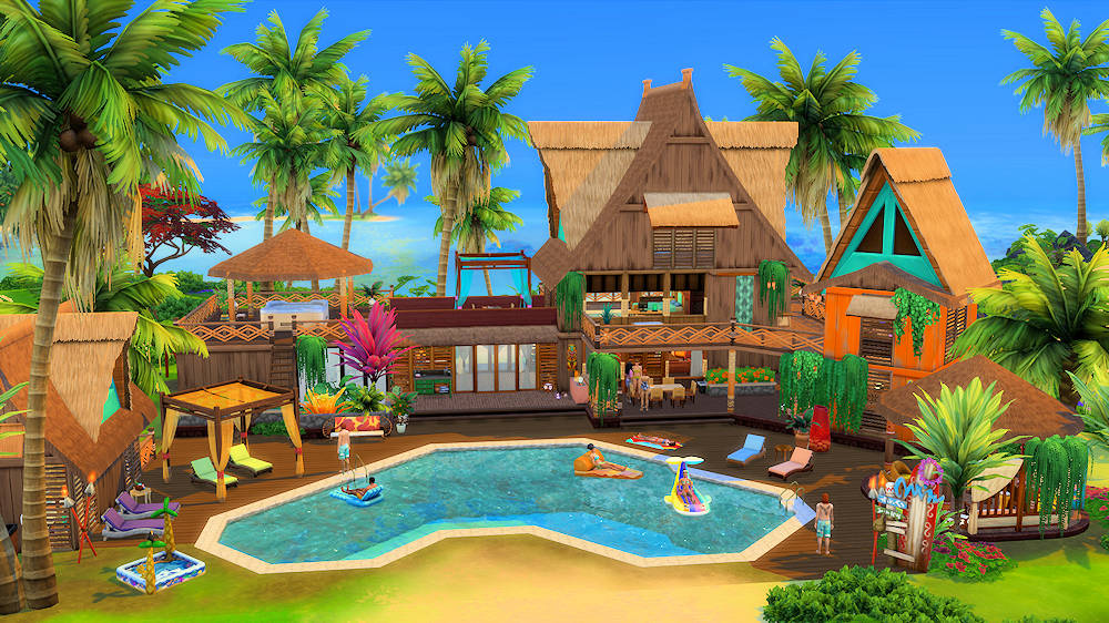 Hotels et Resorts sims 4