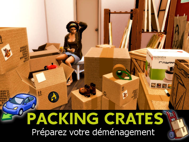 ▷ Packing Crates par Scumbumbo