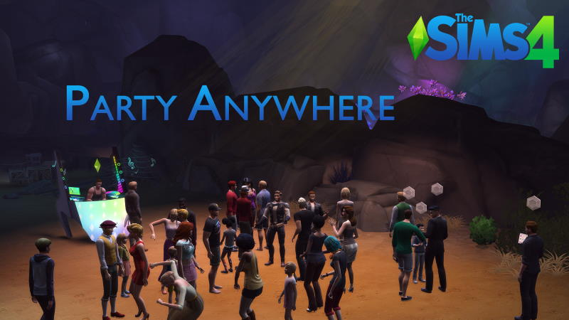 party anywhere sims 4