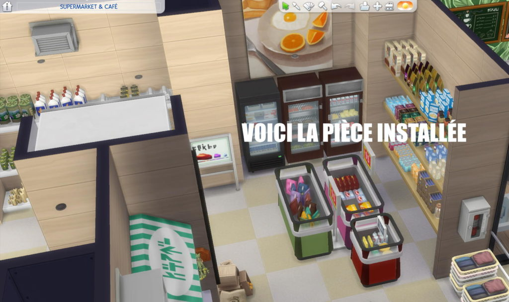 sims 4 food store